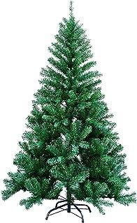 comprar comparacion vingo Árbol de Navidad Artificial, 150cm Verde Pino Arbol para Decoración Navideña Nevado de Picea, Aguja de Pino, con Sop...