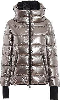 Herno Luxury Fashion Womens PI085DL122928000 Silver Down Jacket | Fall Winter 19