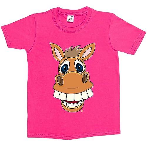 KIDS I LOVE HORSES HEART T SHIRT CHILDREN/'S T-SHIRT GIRLS BOYS VARIOUS SIZES