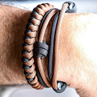 Wearable EDC Everyday Carry Self Defense Survival Choke Attack Weapon Bracelet