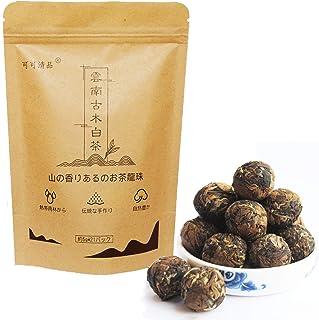 中国茶白茶 本場雲南プーアル産白茶100%天然 無農薬 白牡丹茶 ギフト ティーパック ティー 茶葉 清香型 (約5g*21パック)