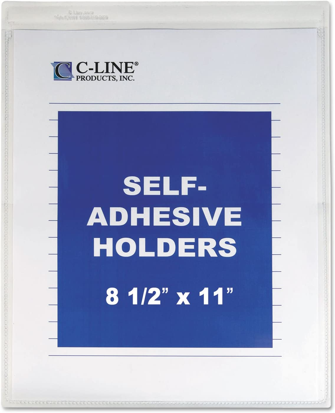 C-Line Super beauty product restock quality top 70911 Self-Adhesive Shop Limited time cheap sale Heavy Holders Ticket 15-Inch