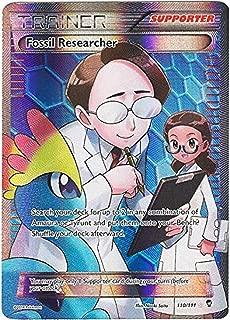 pokemon fossil researcher full art