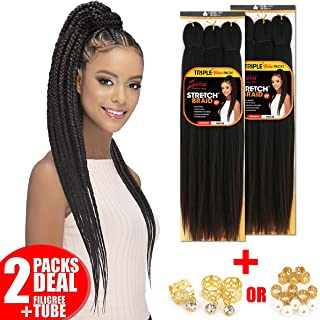 [2PACKS DEAL] Amore Mio Synthetic Pre-Streched Braiding Hair 25