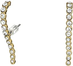 Vince Camuto - Pave Lobe Post Earrings