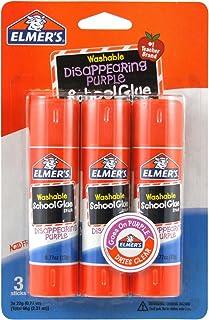 Elmer's Disappearing Purple School Glue Sticks, 0.77 oz...