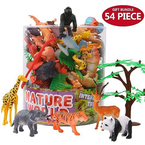 Plastic Farm Animals x 10* Party Bag Fillers**Party Prizes*Farm