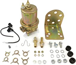 The ROP Shop Electric Fuel Pump & Hardware for Carter P4594 P4070 12V 72 GPH 4-8 psi NPT 1/4