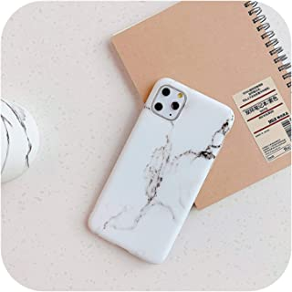 Euiwq 人気度 マーブルケースforFor iPhone 11 7 8 6 6S Plus SE 2021 Back Cover For Huawei P20 P30 Lite Mate 20 Pro Case With Holder St...