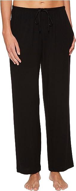 Donna Karan - Petite Modal Spandex Jersey Long Pants
