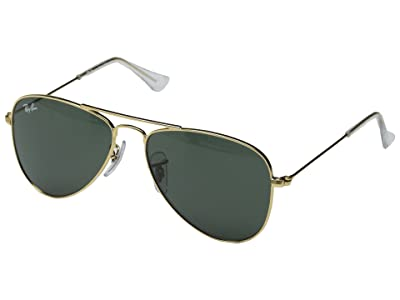 Ray-Ban Junior RJ9506S 50mm (Youth) (Gold/Green) Fashion Sunglasses