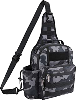 TAIBID Tactical Sling Bag Pack Military Rover Shoulder Backpack