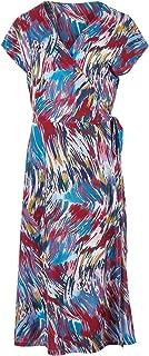 Belle Bird Womens Knee Length Dresses Belle Swirl Print Dress Swirlprint