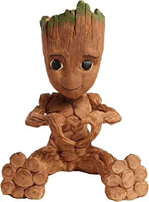 Guardians of The Galaxy Baby Groot Heart Hands Planter