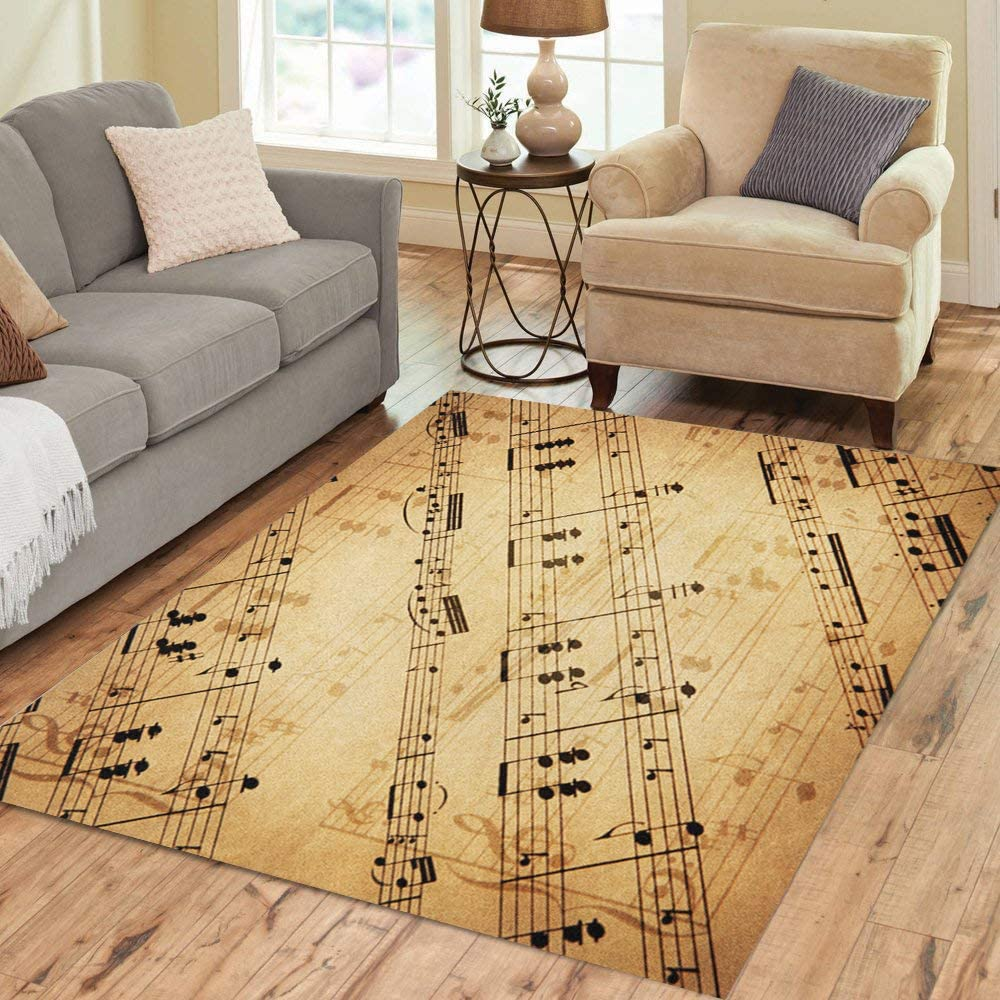 Pinbeam All items free shipping Area Rug Musical Author of Meyerbeer G Limited price sale 1864 Notes 1791 H
