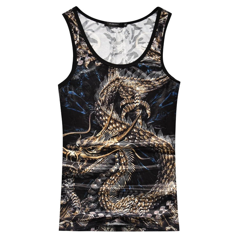 [sweet bell] タンクトップ メンズ Tシャツ ノースリーブ トップス カジュアル seqt3025-1202p35
