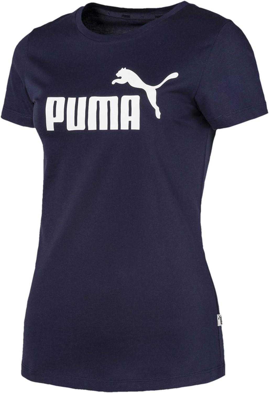 PUMA Women's Essentials T-Shirt at  Women's Clothing store