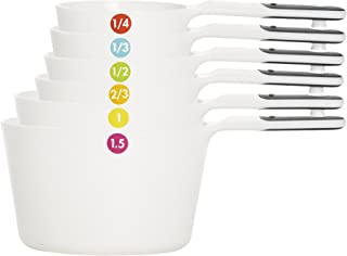 OXO Good Grips 7-Piece Measuring Cup Set with Odd Size 1.5 Cup