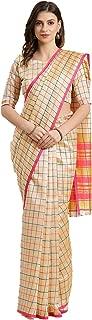 MARUTIFAB Soft Cotton Silk Saree With Blouse