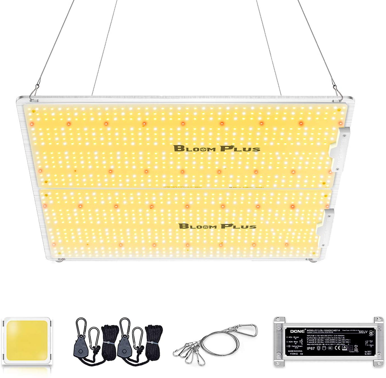 Bloom Plus LED Ranking TOP16 Grow Light BP3000 Samsung Diodes with 1174pcs Use 1 year warranty