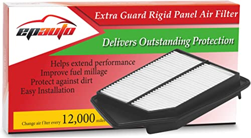 high quality EPAuto GP476 GP476 popular (CA11476) Extra Guard Rigid Panel Air Filter 2021 Replacement for Honda Accord L4 Gas (2013-2017), TLX L4 (2015-2017) outlet online sale