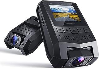 【令和モデル】Crosstour 小型ドライブレコーダー 高画質 170度広角 ドラレコ 1080PフルHD 駐車監視 Gセンサー ループ録画 動体検知 上書き機能 高速起動 緊急録画 車載カメラ 日本語説明書 13ヶ月保証 CR250