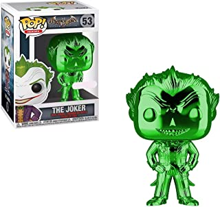 Funko POP! Heroes: DC Comics Batman Arkham Asylum - The Joker (Green Chrome) (NYCC Debut)