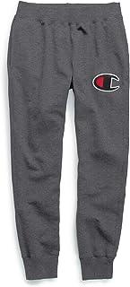 بنطلون رياضي رجالي من Champion مصنوع من الصوف الناعم بخياطة سلسلة C شعار