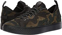 Olive Camo Silky Suede