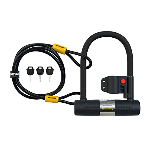 Bike Lock High Security Intelligent Anti Theft Chargeable Security Fingerprint Bicycle Combination Coiling Cable Lock for Bicycle Outdoors
