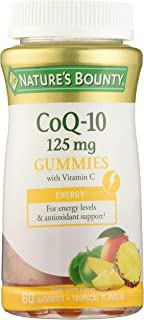Nature's Bounty Co Q-10 125 mg Gummies: contribuye al normal funcionamiento