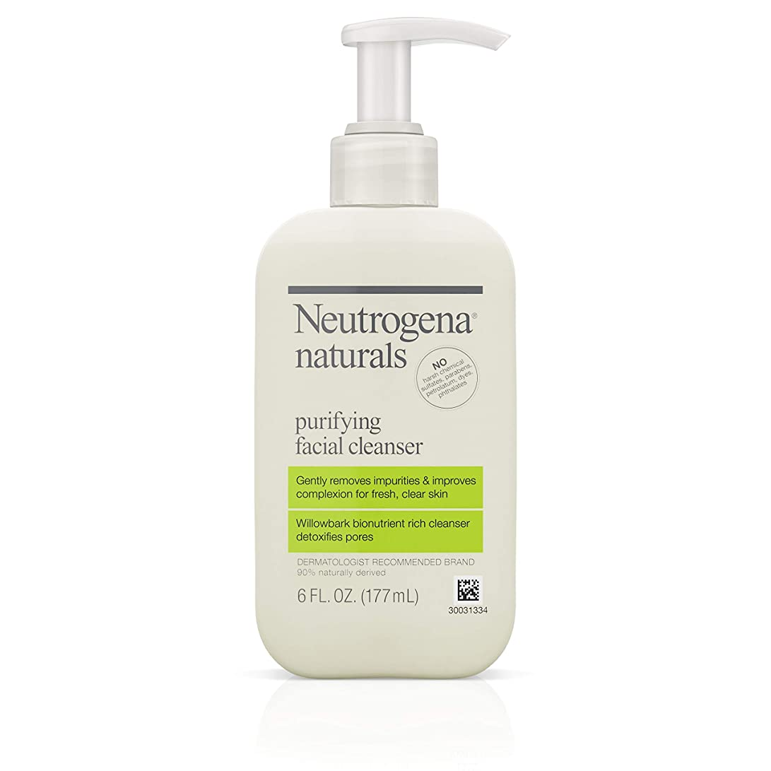 ポール領収書断片Neutrogena Naturals Purifying Facial Cleanser 175 ml (並行輸入品)