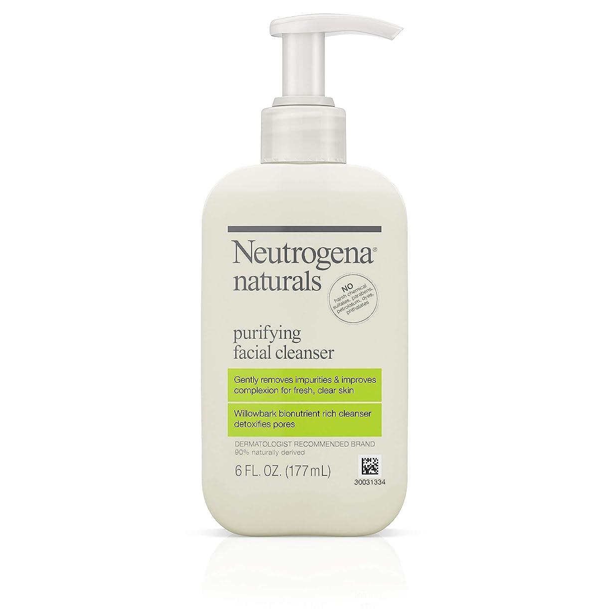 校長かける技術Neutrogena Naturals Purifying Facial Cleanser 175 ml (並行輸入品)