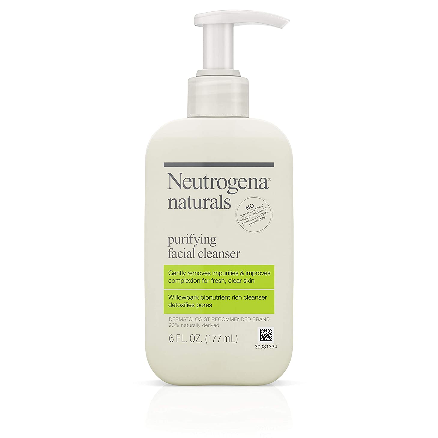 初心者望みのれんNeutrogena Naturals Purifying Facial Cleanser 175 ml (並行輸入品)