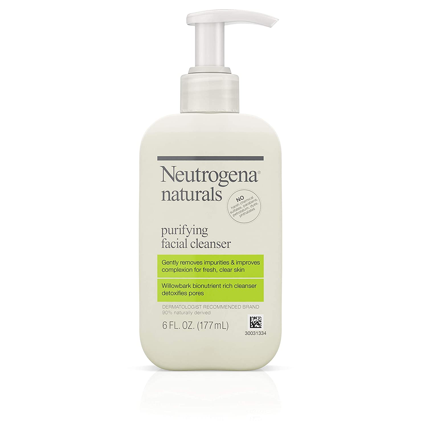 祝福する模倣短くするNeutrogena Naturals Purifying Facial Cleanser 175 ml (並行輸入品)