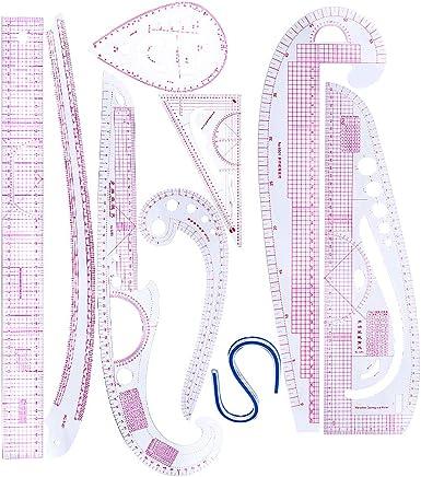 B Baosity 2 Pares Perforadora de Bricolaje de Cuero Tenedores para Coser de Cuero Resistente