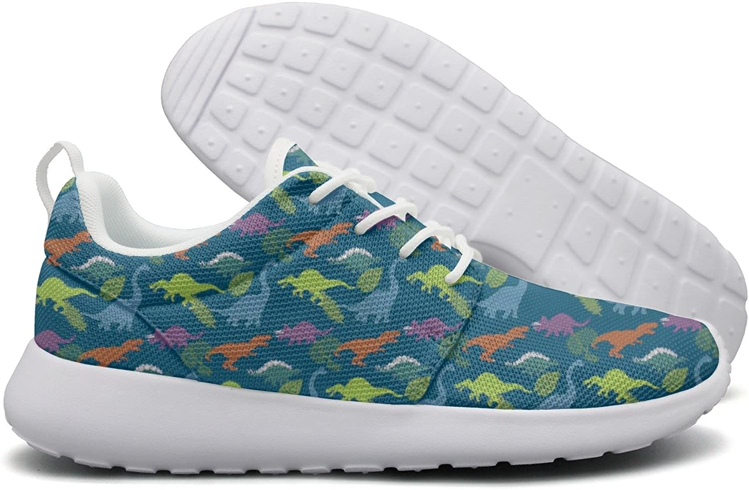 Dinosaur Birthday Decorations Mens Camping Running shoes Cool colorful
