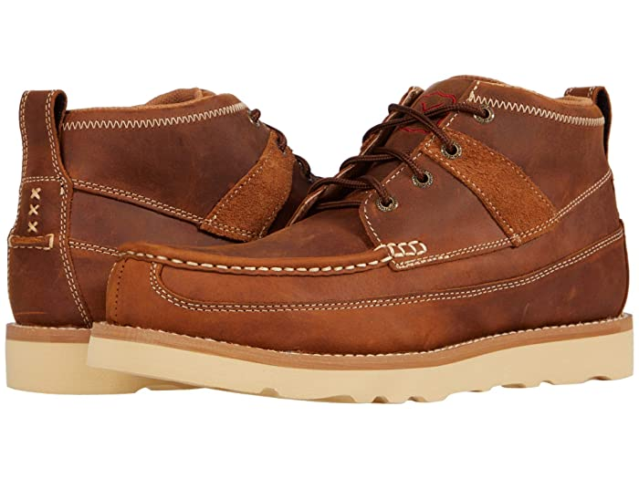 Twisted X  MCAS001 (Oiled Saddle) Mens Shoes