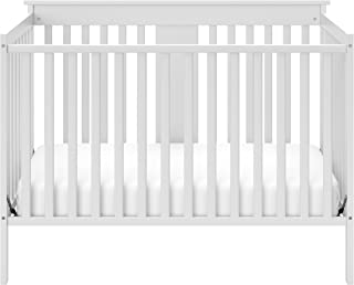 Storkcraft Mission Ridge Fixed Side Convertible Crib, White