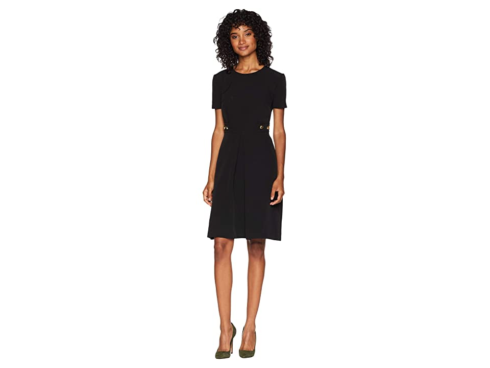 Trina Turk Perla Dress (Black) Women
