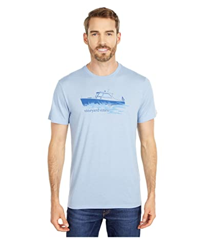 Vineyard Vines Short Sleeve Fishing Boat Island T-Shirt (Coastline) Men