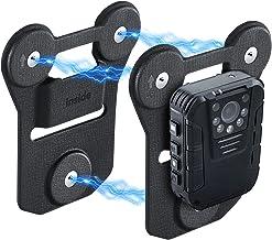 پایه بدن مغناطیسی دوربین بدن ، نگهدارنده آهنربای مکش قوی جهانی ، برای انواع دوربین های بدن با مارک های پوشیدنی به لباس بچسبید