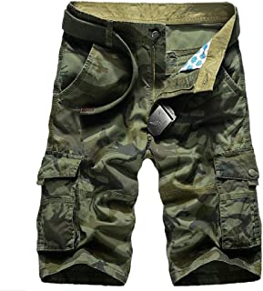 Coolred Men Multicamo Summer Multi Pockets Fashion Short Pants Combat Pant