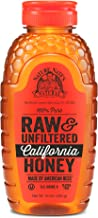 Nature Nate's 100% Pure Raw & Unfiltered California Honey; 16-oz. Squeeze Bottle; Certified Gluten Free & OU Kosher Certif...