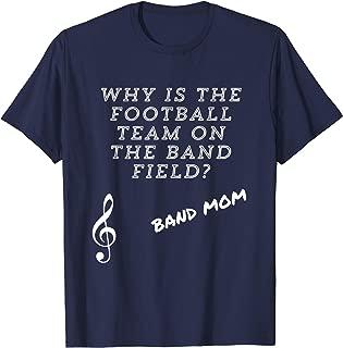 band and football mom