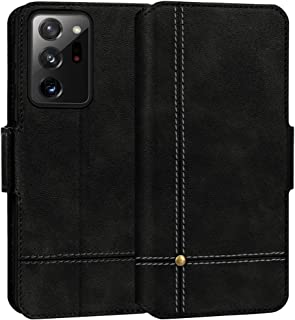 "FYY Case for Samsung Galaxy Note 20 Ultra 6.9"", Ultra Slim PU Leather Wallet Case Protective Cover with Card Holders Kicks..."