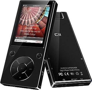 MP3-speler, 32 GB Bluetooth MP3-speler met hoofdtelefoon, MP3-speler kinderen met luidspreker, FM-radio, voicerecorder 2,4...
