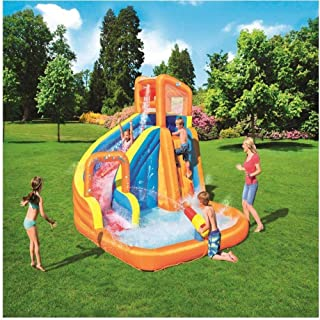 238049588 XSWZAQ Tobogán acuático Parque Infantil al Aire Libre Surf Grande  Windsurfing Juguetes inflables para niños
