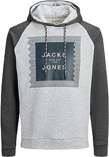 JACK & JONES Jcoretail Sweat Hood Sep Felpa con Cappuccio Uomo