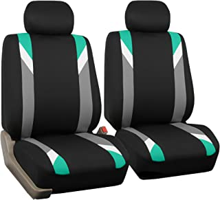 FH Group Mint FB033MINT102 Modernistic Bucket Seat Covers Set of 2